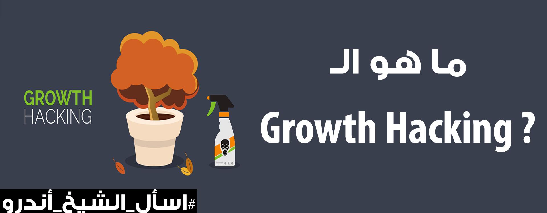 ما هو الجروث هاكينج | Growth Hacking